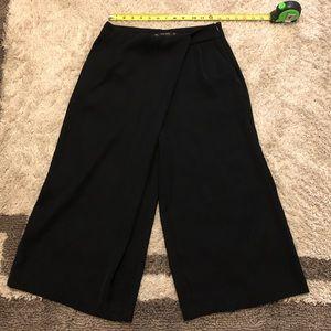 Zara women's black flare pants